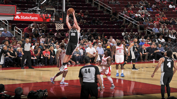 Highlights: Spurs vs. Rockets 10/16