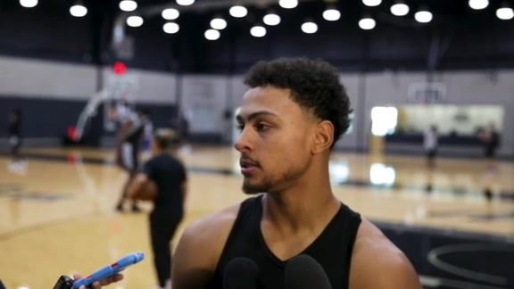 Bryn Forbes - Training Camp 10/18/2019