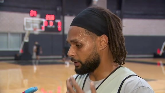 Patty Mills - Training Camp 10/18/2019