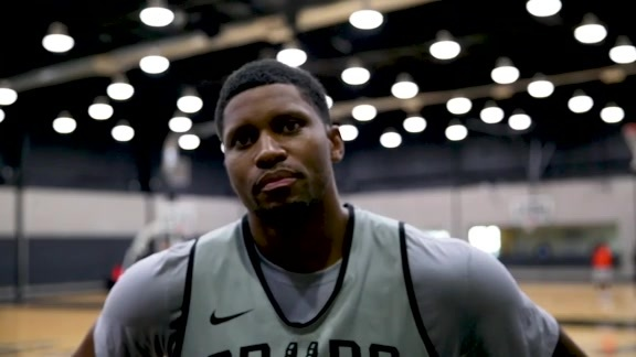 Rudy Gay - Training Camp 10/20/2019