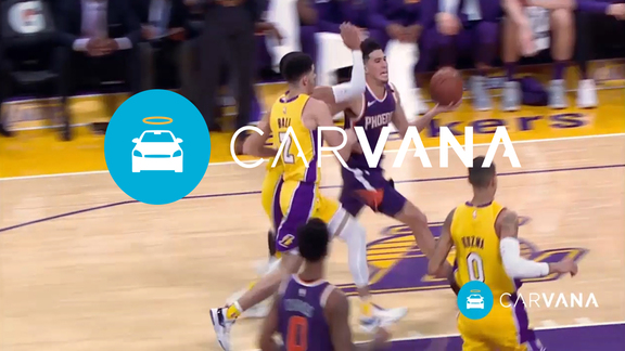 Carvana Drive of the Week: Booker And-One (Week 5)