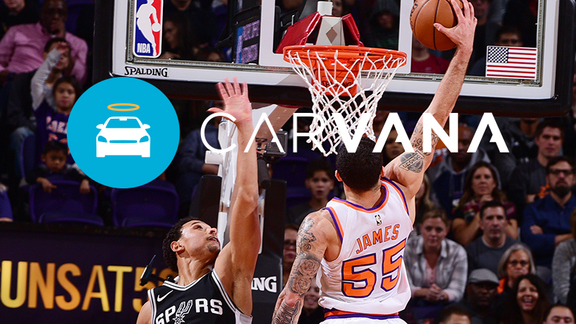 Carvana Drive of the Week: James Throwdown (Week 8)