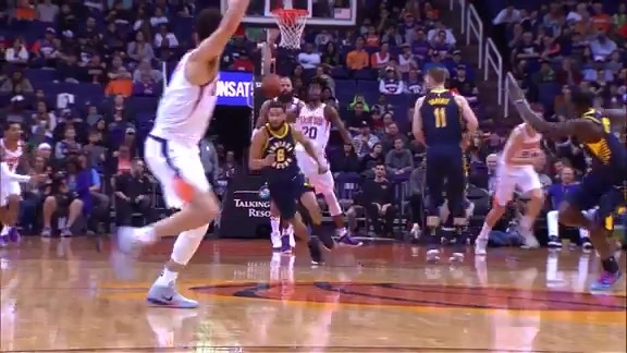 Josh Jackson Full Court Pass to Devin Booker 01/14/18