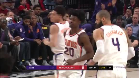 Josh Jackson Throws Down Alley-Oop from Tyler Ulis
