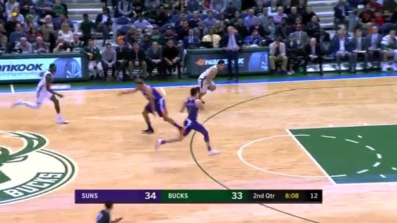 Dudley Steal Leads to Booker Two-Handed Throwdown