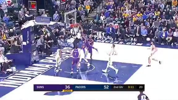 Josh Jackson Hammers-Home Powerful Dunk vs Pacers