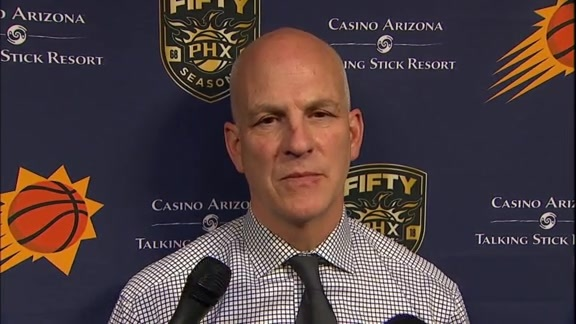 Suns vs Pacers Postgame: Head Coach Jay Triano