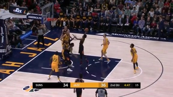 Josh Jackson Drives and Throws Down Massive Slam