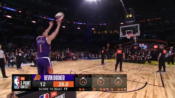Devin Booker JBL Three-Point Contest Championship Round