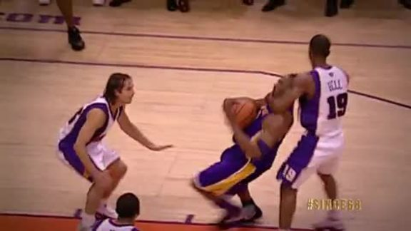 Since '68: Raja Bell Clotheslines Kobe Bryant