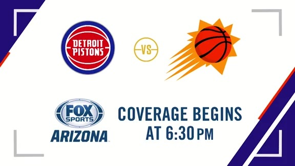 Suns Gameday: Suns vs Pistons