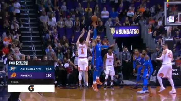 Gatorade Postgame Report: Suns vs Thunder