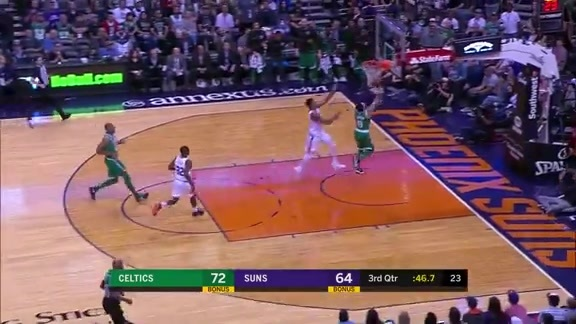 Marquese Chriss with the Chasedown Block Against Celtics