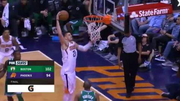 Gatorade Postgame Report: Suns vs Celtics