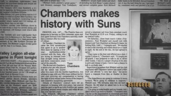 Since '68: Tom Chambers First NBA Unrestricted Free Agent