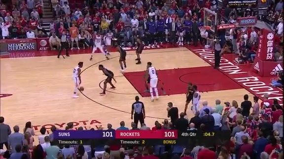 Josh Jackson Hits Clutch Shot Against Rockets Late in the Game