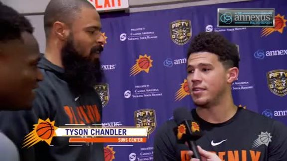 Annexus Practice Report: Tyson Beats Booker in 3pt Shootout and Decade Night Preview