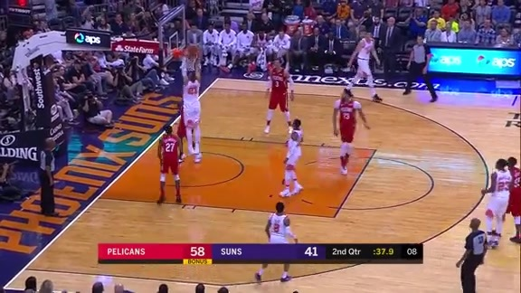 Alex Len Slams it Home Against the Pelicans