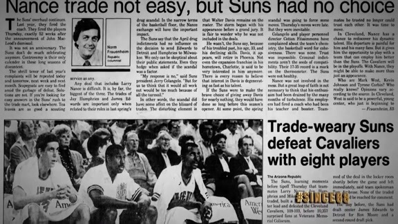 Since '68: Larry Nance Trade