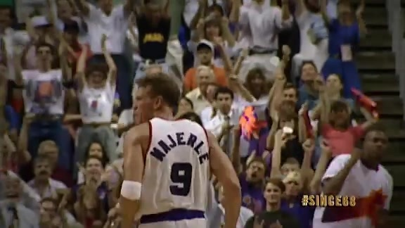 Since '68: Majerle's Eight Three-Pointers in 93' WCF