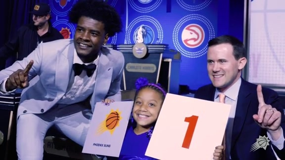 Josh Jackson and Jazmyne took on Chicago before they home the #1 pick
