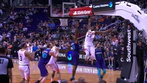 2017-'18 Phoenix Suns: Top 10 Dunks of the Year