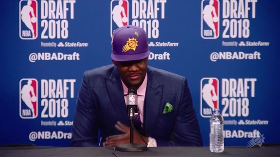 2018 NBA Draft Deandre Ayton Press Conference