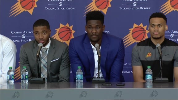 2018 Suns Draft Introductory Press Conference