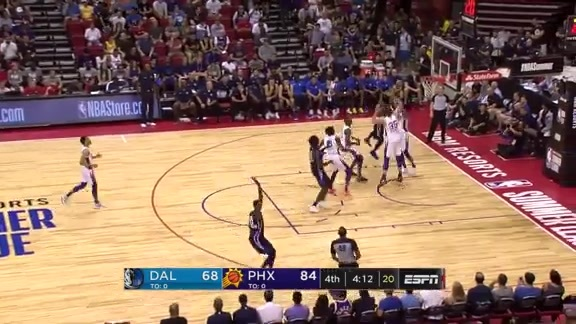Dragan Bender with the Big Block Against the Mavericks