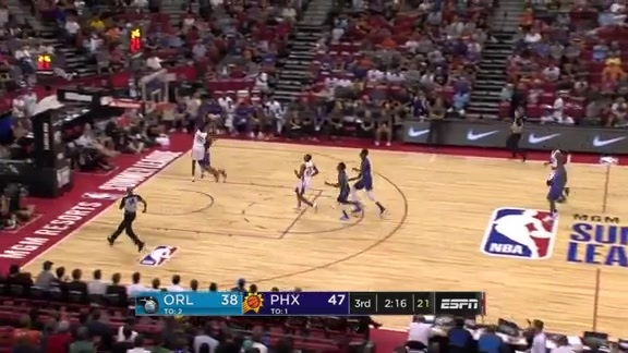 Shaq Harrison Stopping the Fast Break with the Big Block