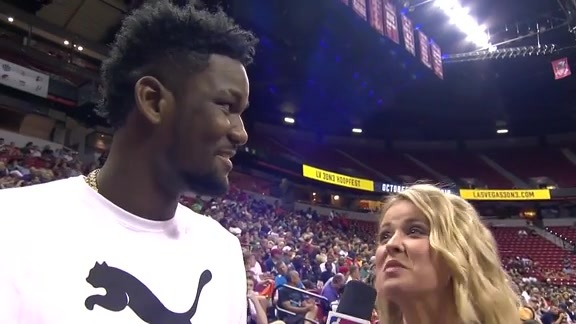 Summer League Interview: Deandre Ayton