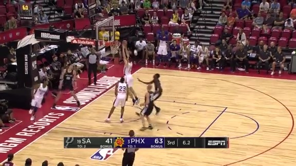 Shaquille Harrison Feeds Alec Peters for Transition Dunk