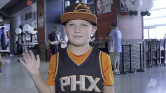 Phoenix Suns Fans Repping Team in 2018 Summer League