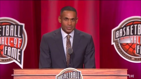 Grant Hill Hall of Fame Induction Speech