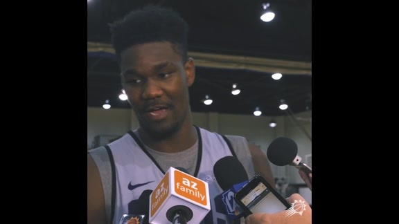 2018 Suns Training Camp Day One: Ayton on Chandler's Veteran Voice