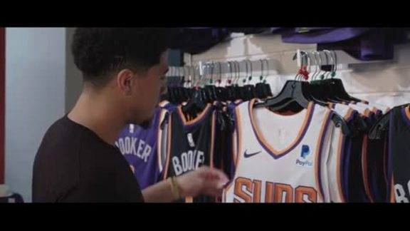 Devin Booker Suns PayPal Jersey Patch