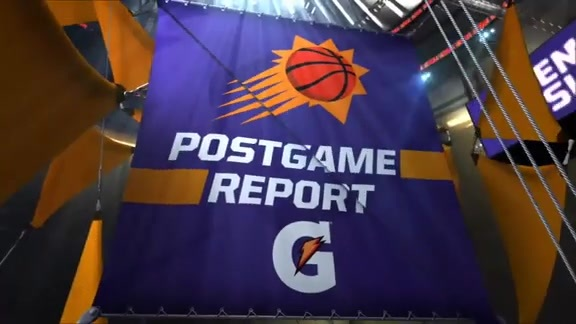 Gatorade Postgame Report: Suns vs. Raptors 2018-19