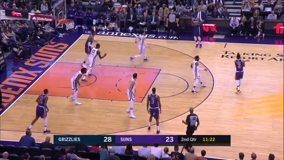 Elie Okobo Attacks the Paint and Gets the Layup