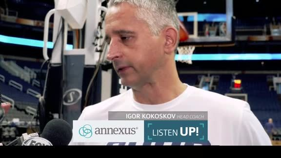Annexus Listen Up: Coach Kokoškov and Crawford on Culture