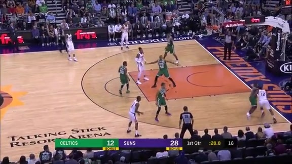 Warren Takes Rozier 1-on-1 to the Basket