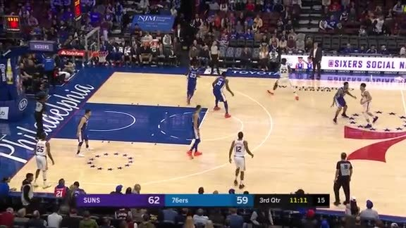3-pointer by Devin Booker