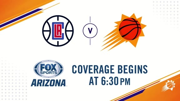 Suns Gameday 2018-19: Suns vs. Clippers