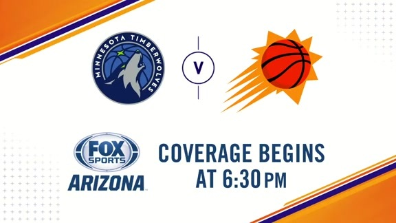 Suns Gameday 2018-19: Suns vs. Timberwolves