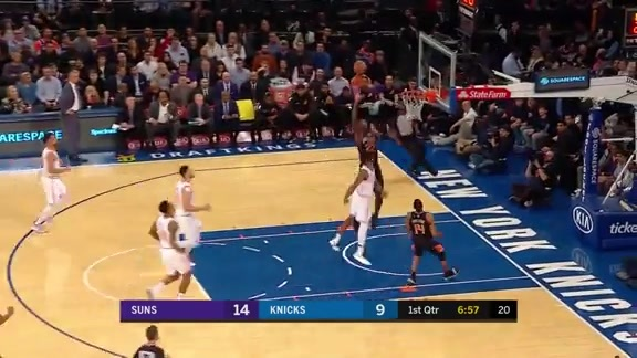 Deandre Ayton Dunk in NYC