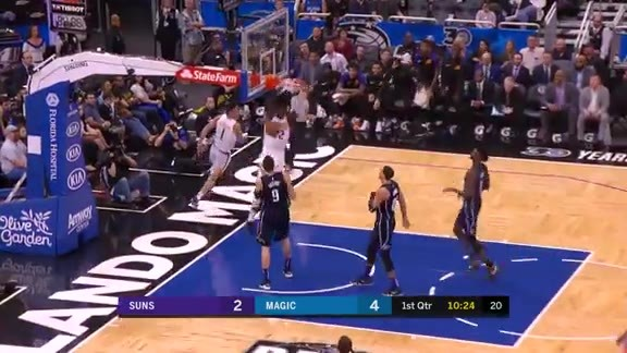 Devin Find Deandre for the Dunk