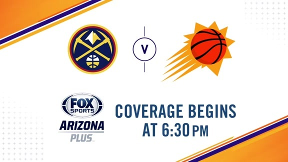 Suns Gameday 2018-19: Suns vs. Nuggets
