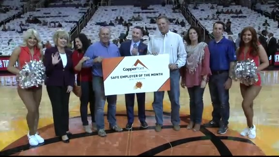 CopperPoint Safe Employer of the Game | 10.17.18 vs Mavericks