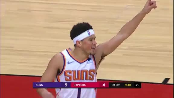 Devin Booker Three-Pointer