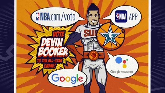Vote Devin Booker to the 2019 NBA All-Star Game