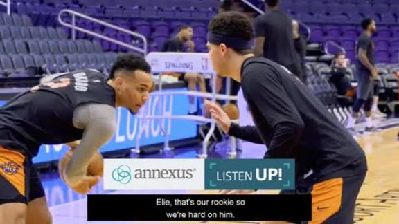 Annexus Listen Up: Booker Going One-on-One